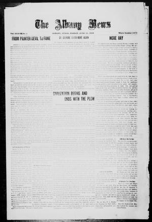 Primary view of object titled 'The Albany News (Albany, Tex.), Vol. 37, No. 1, Ed. 1 Friday, June 18, 1920'.