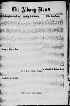 Primary view of object titled 'The Albany News (Albany, Tex.), Vol. 42, No. [11], Ed. 1 Friday, November 20, 1925'.