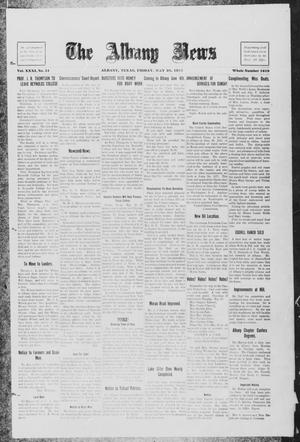 Primary view of object titled 'The Albany News (Albany, Tex.), Vol. 31, No. 51, Ed. 1 Friday, May 28, 1915'.