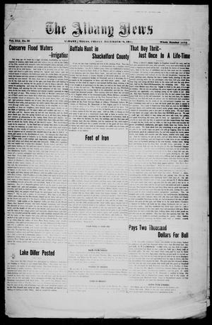 Primary view of object titled 'The Albany News (Albany, Tex.), Vol. 41, No. [24], Ed. 1 Friday, December 19, 1924'.