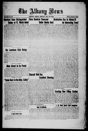 Primary view of object titled 'The Albany News (Albany, Tex.), Vol. 41, No. [44], Ed. 1 Friday, May 29, 1925'.