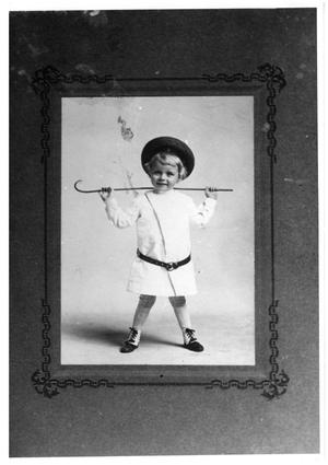 Primary view of object titled 'T.C. Davis as a Child'.