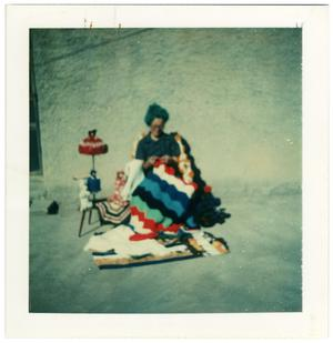 Primary view of object titled '[Paula Quiroz Carrasco, Knitting]'.