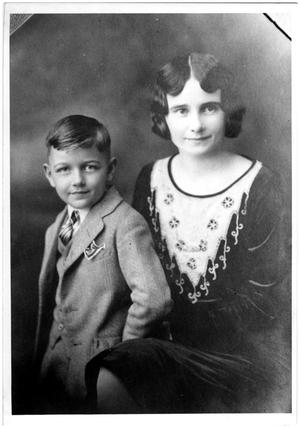 [India Coffield and Frank Ericson Coffield in 1931]