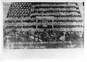Primary view of object titled '[First human flag in Hot Springs, Arkansas State Fair]'.