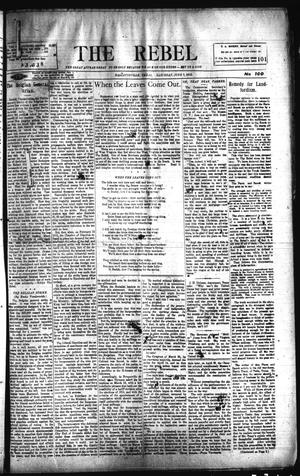 Primary view of object titled 'The Rebel (Hallettsville, Tex.), Vol. [2], No. 100, Ed. 1 Saturday, June 7, 1913'.