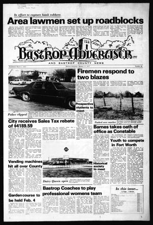 Primary view of object titled 'Bastrop Advertiser and Bastrop County News (Bastrop, Tex.), No. 48, Ed. 1 Thursday, January 27, 1977'.