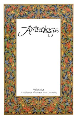 Primary view of object titled 'Anthology, Volume 12, Spring 2006'.