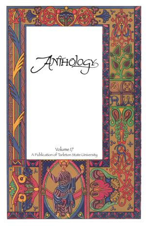 Primary view of object titled 'Anthology, Volume 17, Spring 2011'.