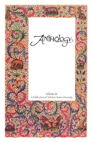 Primary view of object titled 'Anthology, Volume 16, Spring 2010'.
