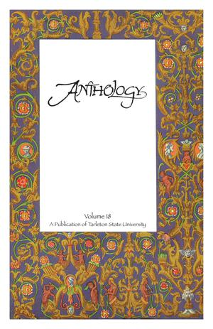 Primary view of object titled 'Anthology, Volume 18, Spring 2012'.