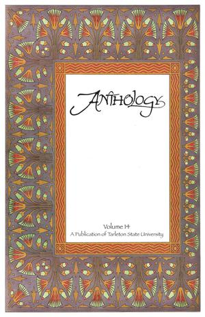 Primary view of object titled 'Anthology, Volume 14, Spring 2008'.