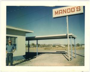 Primary view of object titled '[Mando's Drive In]'.
