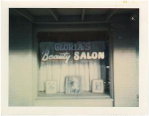 Primary view of object titled '[Gloria's Beauty Salon]'.