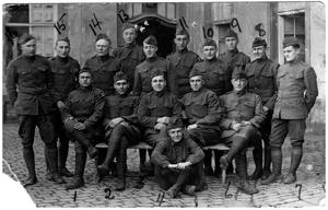 Primary view of object titled 'U.S. Army  Soldiers in Germany During World War I'.