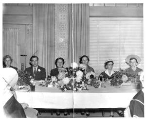 Primary view of object titled '[Annual Century Club president's luncheon, late 1950s]'.