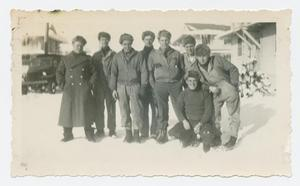 Primary view of object titled '[Soldiers in the Snow]'.