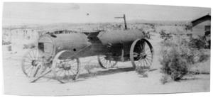 Primary view of object titled '[A boiler Wayne Cartledge used with the engine in Castolon]'.