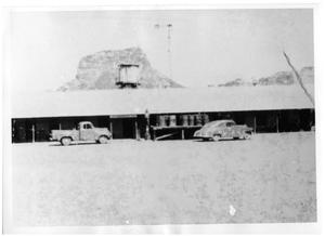 Primary view of object titled '[Wayne Cartledge's store in Castolon]'.