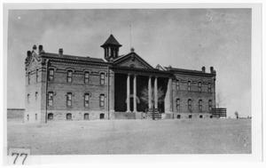 Primary view of object titled '[Unidentified educational institution near Marfa]'.