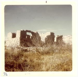 Primary view of object titled '[Ruins near Marfa]'.