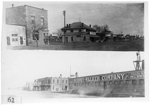 Primary view of object titled '[Hotels and industry near Marfa]'.