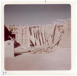 Primary view of object titled '[Additional ruins of Presidio structure]'.