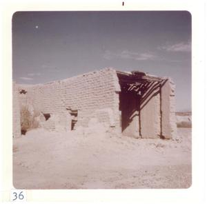 Primary view of object titled '[Ruins of Presidio structure]'.
