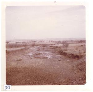 Primary view of object titled '[Barren Big Bend desert landscape]'.