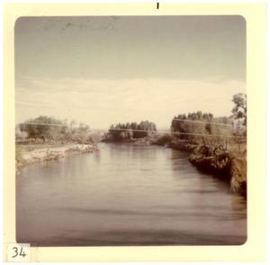 Primary view of object titled '[Rio Grande river near Big Bend]'.