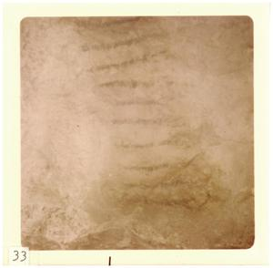 Primary view of object titled '[Indian cave paintings in Marfa]'.