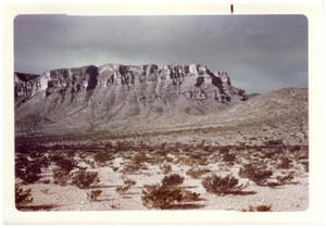 Primary view of object titled '[Picture of desert landscape]'.