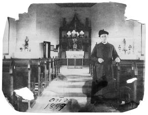 Primary view of object titled '[Father Ricardo in the late 1800s]'.