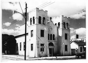 Primary view of object titled '[Sacred Heart Catholic Church in the 1950s]'.
