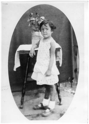 Primary view of object titled '[Lilia Corrales in 1925]'.