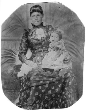 Primary view of object titled 'Anastasia Chavira and Baby Marcelina'.