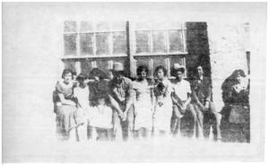 Primary view of object titled '[1935 class picture from Casa Piedra]'.
