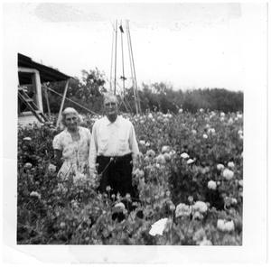 Primary view of object titled '[Bob and Erin Carr in East Texas]'.