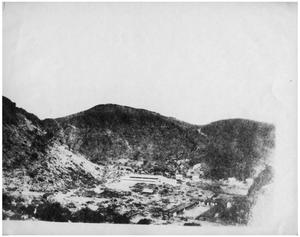 Primary view of object titled 'Aerial View of Camp Holland'.