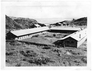 Primary view of object titled 'Buildings at Camp Holland'.