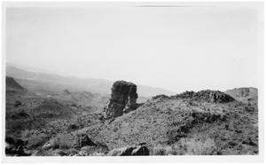 Primary view of object titled '[Photograph of View from Candelaria Hill Road]'.
