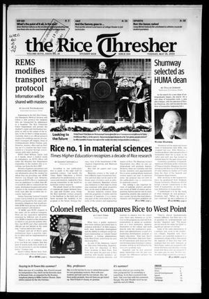 The Rice Thresher, Vol. 97, No. 28, Ed. 1 Tuesday, May 18, 2010