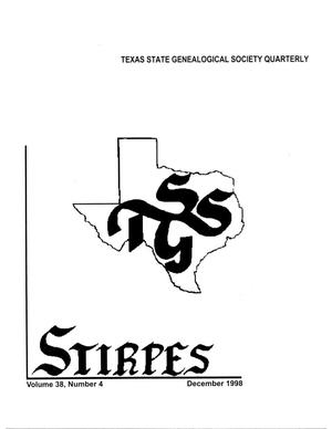 Primary view of object titled 'Stirpes, Volume 38, Number 4, December 1998'.