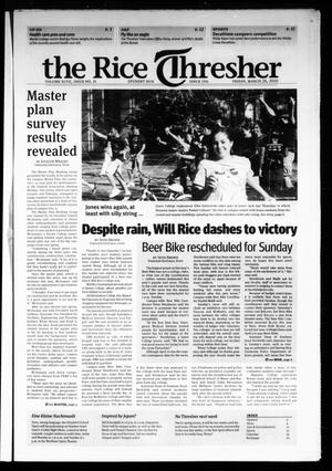 The Rice Thresher, Vol. 97, No. 24, Ed. 1 Friday, March 26, 2010