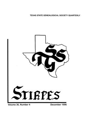 Primary view of object titled 'Stirpes, Volume 36, Number 4, December 1996'.
