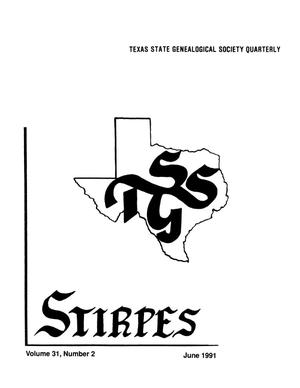 Primary view of object titled 'Stirpes, Volume 31, Number 2, June 1991'.