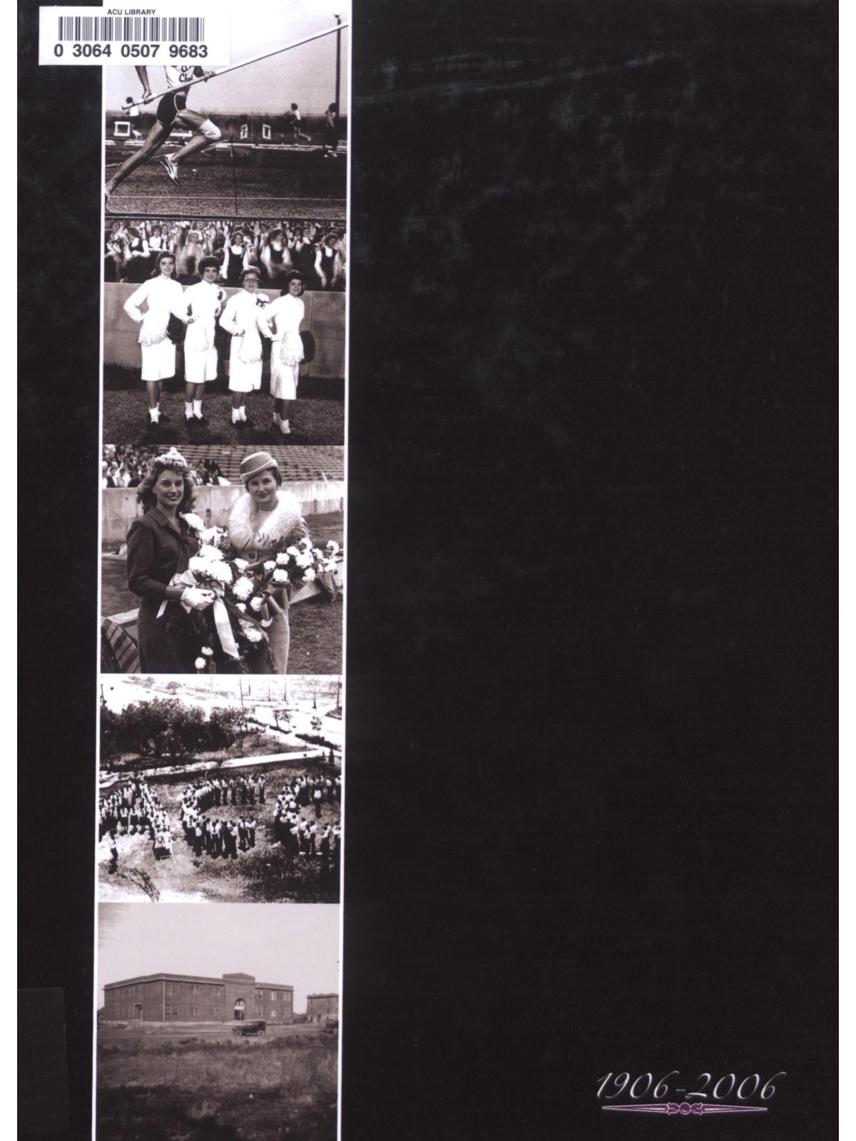 Prickly Pear, Yearbook of Abilene Christian University, 2006                                                                                                      Front Cover