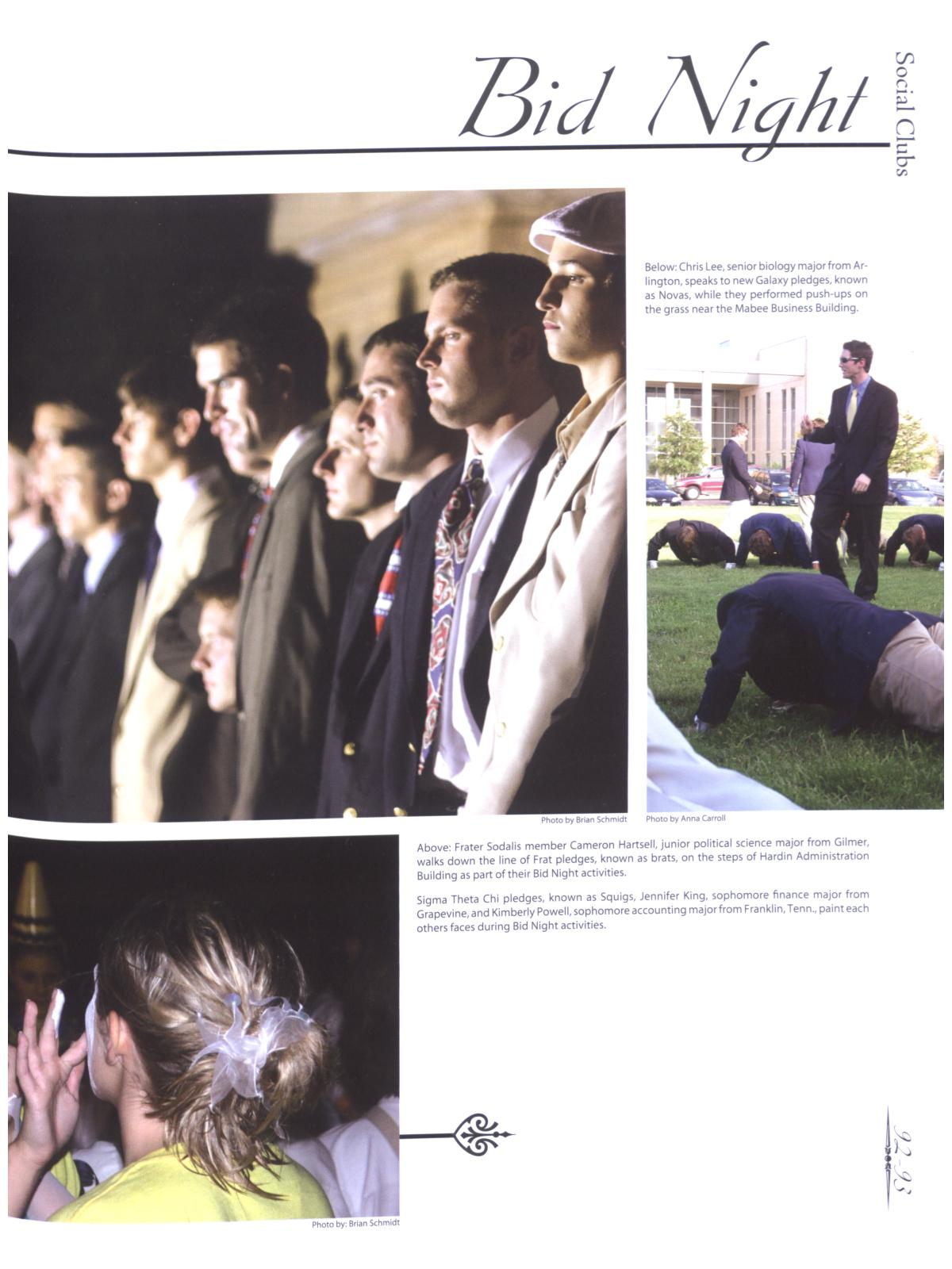 Prickly Pear, Yearbook of Abilene Christian University, 2006                                                                                                      93