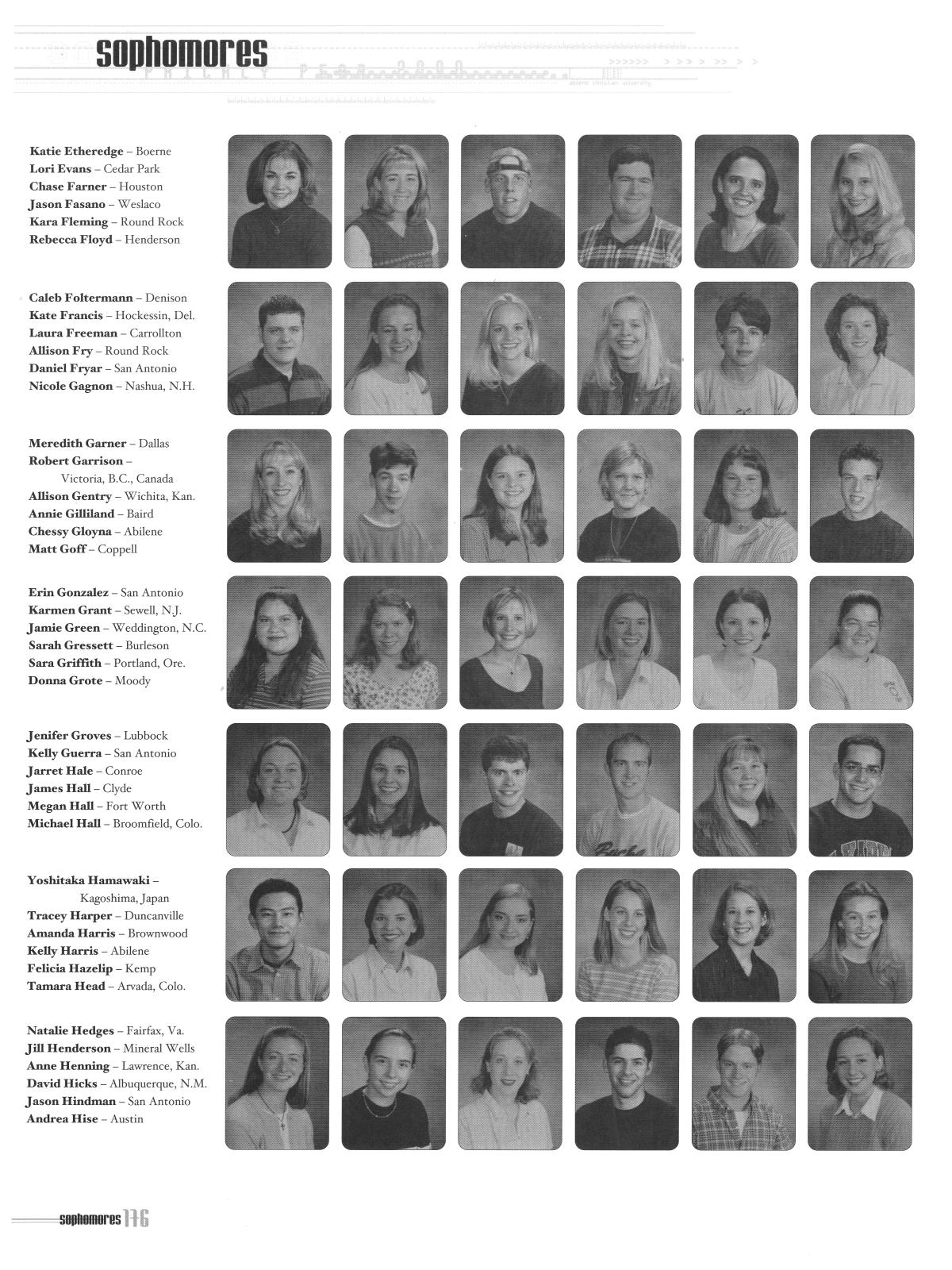 Prickly Pear Yearbook Of Abilene Christian University