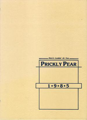 Primary view of object titled 'Prickly Pear, Yearbook of Abilene Christian University, 1985'.